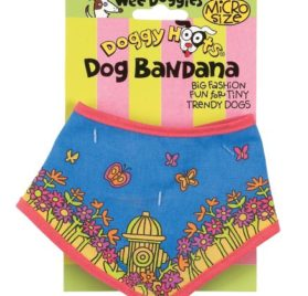 Fat Cat Doggy Hoots Wee Doggies Micro Dog Bandana - 1