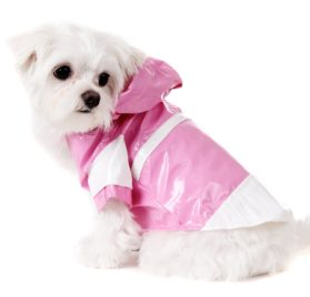 "UrbanPup Candy Pink Raincoat (Small - Dog Body Length: 10"" / 25cm) - 1"