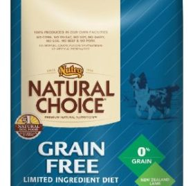 Natural Choice Dog Grain Free Lamb Meal and Potato Formula Adult Dog Food, 4-Pound - 1
