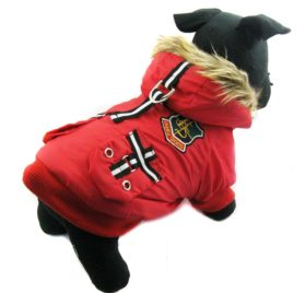 Alfie Couture Designer Pet Apparel - Hilda Hooded Jacket - 1