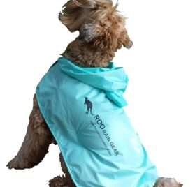 Roo Rain Gear Dog Recycled Plastic Bottle Packable Rain Poncho - 2