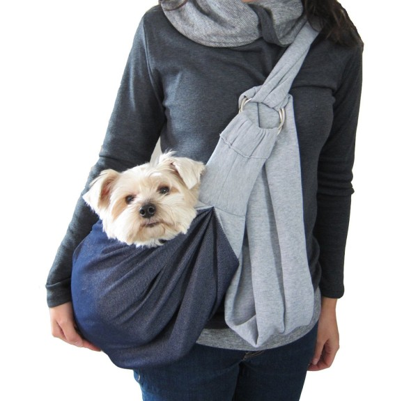 Alfie Pet by Petoga Couture - 3-Piece Dog Park Bundle: Chico 2.0 Revisible Pet Sling Carrier, Microfiber Fast-Dry Towel, Rosh Collapsible Travel Bowl - 2