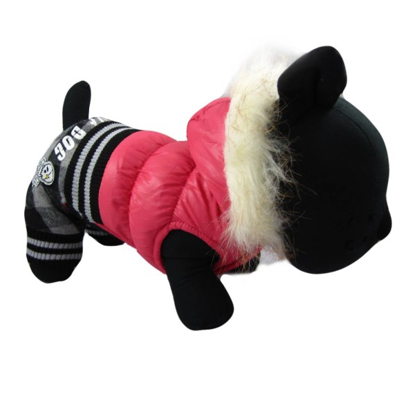 Alfie Couture Designer Pet Apparel - Bam Hooded Jumper - 3