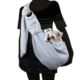Alfie Pet by Petoga Couture - 3-Piece Dog Park Bundle Chico 2.0 Revisible Pet Sling Carrier, Microfiber Fast-Dry Towel, Rosh Collapsible Travel Bowl 2