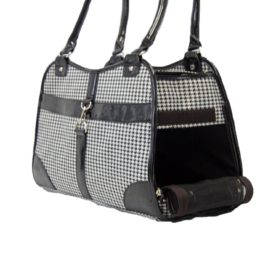 Houndstooth Print Shoulder Bag Carrier
