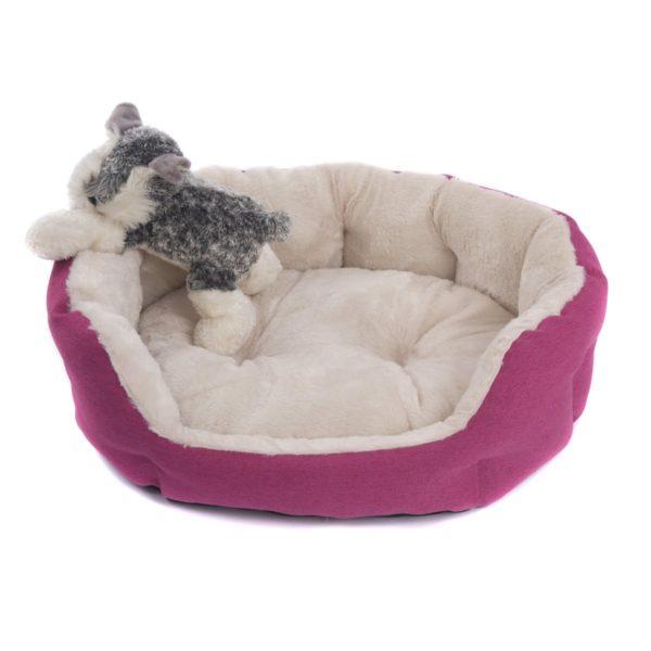 Favorite Cozy Plush Cuddle Bed, Nesting Pet/Dog/Cat/Puppy ...