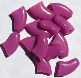 Soft Nail Caps For Dog Claws PURPLE X-SMALL SIZE * Purrdy Paws Brand-1
