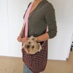 Alfie Pet by Petoga Couture - Chico Reversible Pet Sling Carrier-2