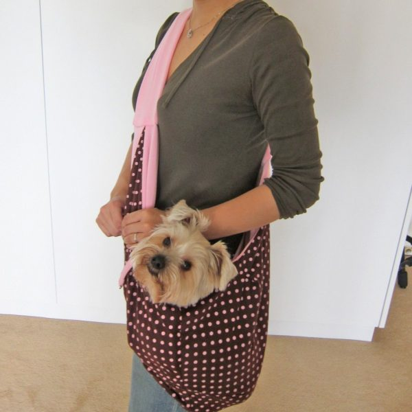 Alfie pet by petoga couture chico reversible pet sling carrier - Pattern for dog carrier sling ...