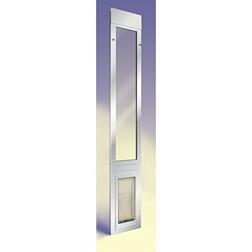 Patio Pacific Thermo Panel 3e for sliding glass doors with Endura Flap pet door-4