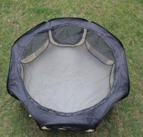 New Black As Seen On TV Pet Dog Cat Tent Playpen Exercise Play Pen Soft Crate S-2