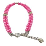 Alfie Couture Designer Pet Jewelry - Nea Double Layer Pearl Necklace for Dogs and Cats-5