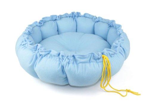 Andget (TM) Shrinkable Pumpkin Pet Bed Warm Soft Tiled Diameter 60cm