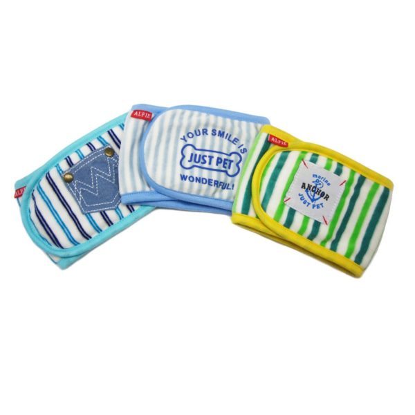Alfie Pet by Petoga Couture - Gaki Belly Band (for Boy Dogs)-1