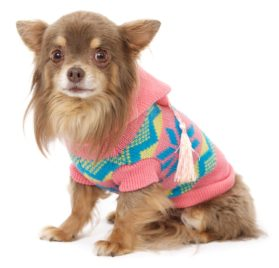 "UrbanPup Alpine Hooded Sweater (X-Small - Dog Body Length: 8"" / 20cm) - 1"