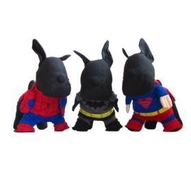 Alfie Pet by Petoga Couture - Superhero Costume 3-Piece Set: Batman, Spiderman and Superman - 1