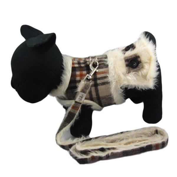 Alfie Couture Designer Pet Accessory - Keri Harness Vest and Leash Set - 1