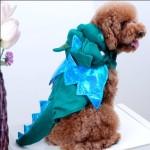 Alfie Couture Designer Pet Apparel - Smokie the Dragon Dinosaur Costume - 3