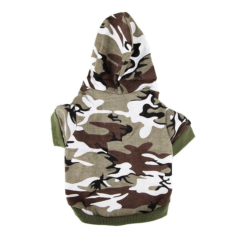 Camo dog hoodie