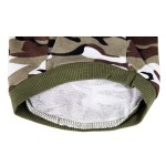 Army Green Camouflage Hoodie Pet Dog Clothes Camo Sweatshirt-XS Size - 4