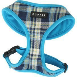 Puppia Soft Dog Harness Spring Blue Small 3