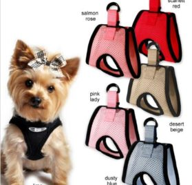 "Doggie Design Ultra Usa Choke-free Dog Harness - Limo Black - Lg (19"" - 21"" Girth)"
