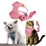 Adjustable Mesh Vest Harness with Leash for Pet Dog Cat