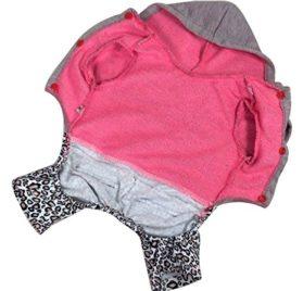 Pet Cat Dog Coat Jumper Jumpsuit Straps Stripes Small Dog Clothes Sweaters XS S M L XL - 6