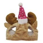 Alfie Pet by Petoga Couture - Qeno Deer Hat Party Costume (for Small Dogs & Cats) - Color: Brown - 7