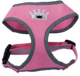 Reflective Mesh Soft Dog Harness Safe Harness No Pull Walking Warm Pet Harnesses for Dogs
