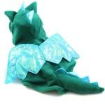 Alfie Couture Designer Pet Apparel - Smokie the Dragon Dinosaur Costume - 7