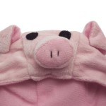 Alfie Pet by Petoga Couture - Qeno Pig Hat Party Costume (for Small Dogs & Cats) - Color: Pink - 8