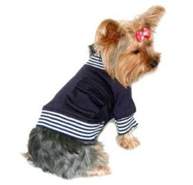 Navy Boy Pet Jacket 2