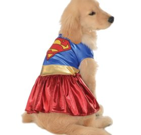 Rubies Costume DC Heroes and Villains Collection Pet Costume-Supergirl-1