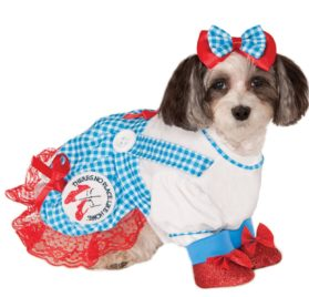 Wizard of Oz Dorothy Dog Costume-1