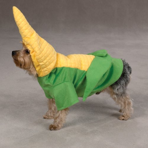 Zack Amp Zoey Polyester Dog Corn On The Costume X Large 24