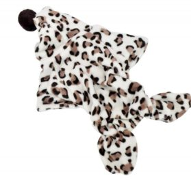 Provenice Soft Warm Pet Dog Clothes Apparel Hoodie Hooded Leopard Print Coat for Winter-1