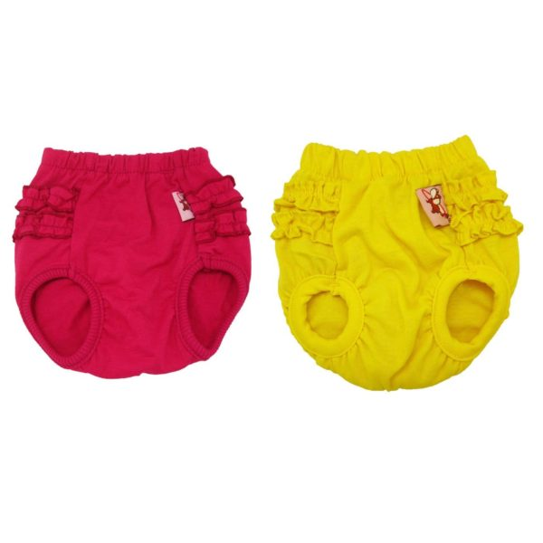 Alfie Pet Apparel - BAMI Diaper Dog Sanitary Pantie 2-Piece Set (for Girl Dogs)-2