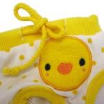 Alfie Pet Apparel - Zoe Diaper Dog Sanitary Pantie - Color: Yellow (for Girl Dogs)-3