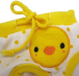 Alfie Pet Apparel - Zoe Diaper Dog Sanitary Pantie - Color: Yellow (for Girl Dogs)-3