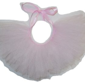 Handcrafted in USA Baby Pink Tulle Tutu for Dogs
