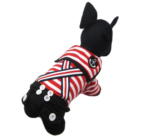Alfie Couture Designer Pet Apparel - Adan Sailor Jumper-1