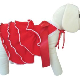UP Collection The Dog Dress, Red, X-Small-1