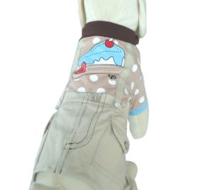 UP Collection Cargo Style Pants for Dogs, Suspenders, 1-Piece Item, X-Small-2