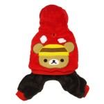 Alfie Couture Designer Pet Apparel - Lou Hooded Jumper-2