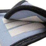 Alfie Pet by Petoga Couture - 4-Piece Set Jacob Denim Belly Band for Smaller Breeds - Color: Denim and Light Blue (for Boy Dogs)-6
