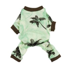 Fitwarm Casual Holiday Hawaiian Aloha Pet Dog Clothes Shirts Jumpsuits Apparel-1
