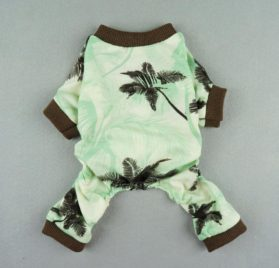 Fitwarm Casual Holiday Hawaiian Aloha Pet Dog Clothes Shirts Jumpsuits Apparel-2