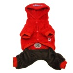 Alfie Couture Designer Pet Apparel - Lou Hooded Jumper-3