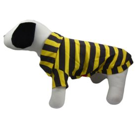 Alfie Couture Designer Pet Apparel - Quinn Striped T-Shirt-1